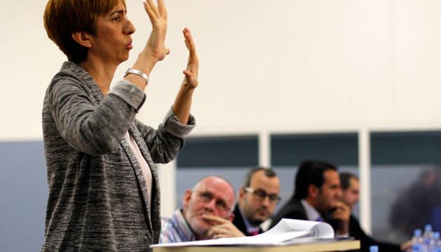 La presidenta de la Fundación CERMI Mujeres (FCM), Concha Díaz, en una imagen de 2014.