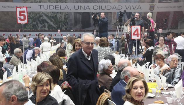 Foto de Miguel Sanz, en el acto de este domingo.