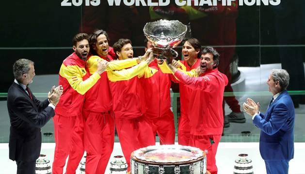 España ganadora de la Copa Davis