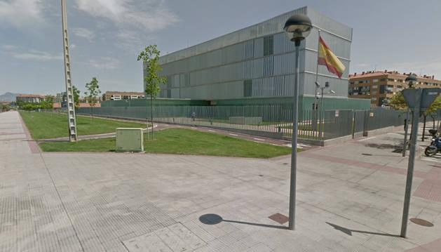 Jefatura Superior de Policía Nacional en Logroño.