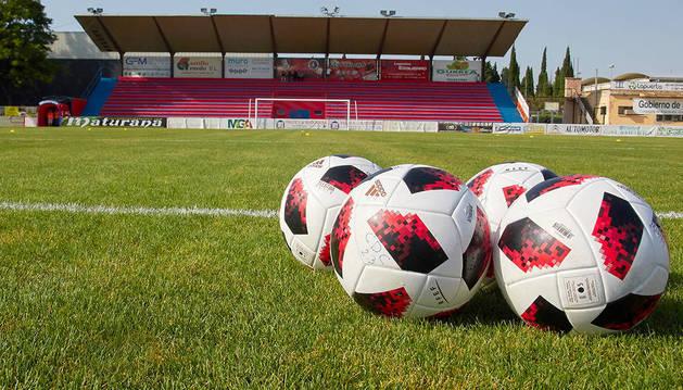 El campo de La Planilla que albergará, a falta de confirmación oficial, el partido contra el Celta.