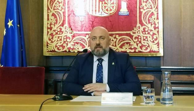 Delegado del Gobierno en Navarra, José Luis Arasti.
