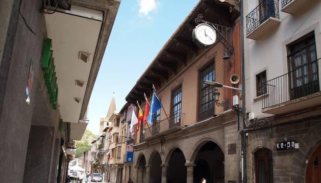 Ayuntamiento de Sangüesa.