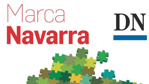 Portada del suplemento Marca Navarra, que se publicará el próximo día 3 con el periódico.