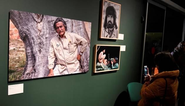Aspecto de la exposición 'Miguel de la Quadra-Salcedo. Una vida de aventura'.