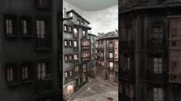 Un paseo por el interior del belén del Ayuntamiento de Pamplona