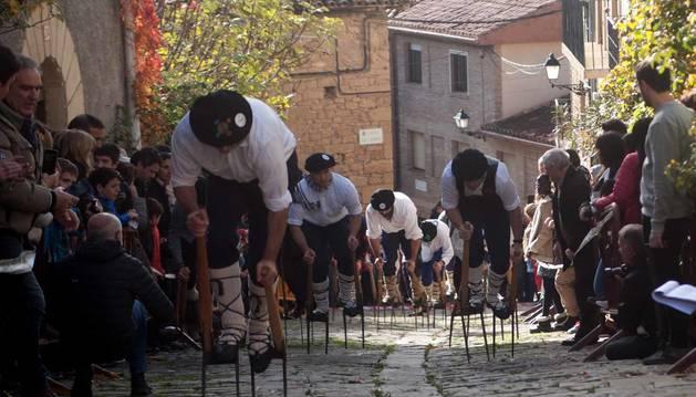 Todas las fotos de la carrera de layas en Artajona