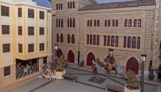 La Asociación de Belenistas de Estella y merindad renueva casi por completo los nacimientos de años anteriores en la cita más esperada de la casa de cultura Fray Diego