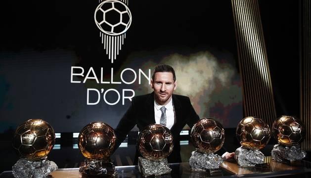 Gala de entrega del Balón de Oro