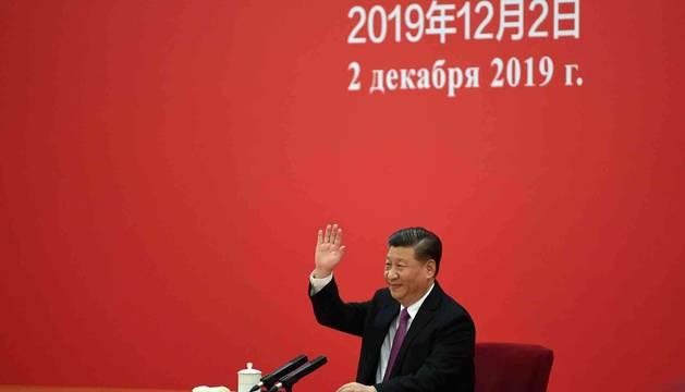 El Presidente de China, Xi Jinping, este lunes.