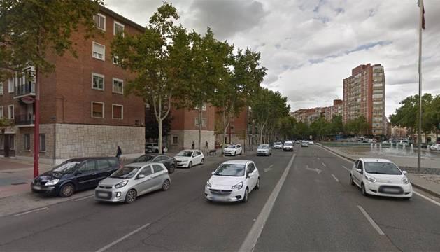 Paseo de Zorrilla en Valladolid