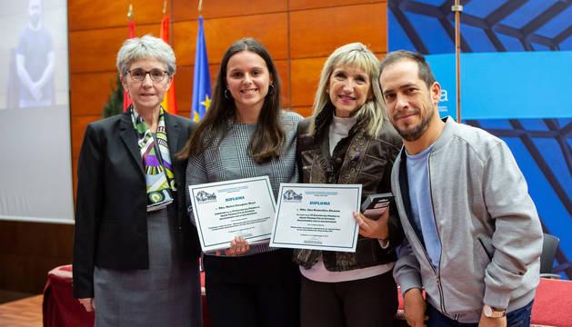 Una enfermera, premio al mejor trabajo sobre discapacidad en la UPNA