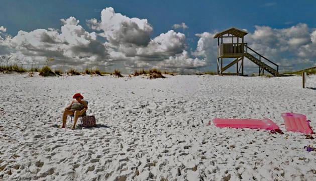 Foto de Navarre Beach, en Florida.