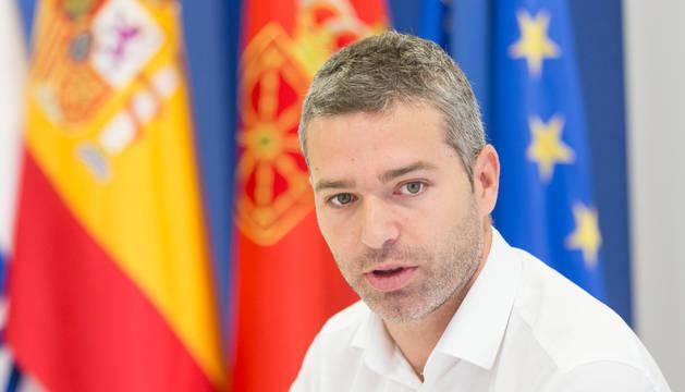 Jorge Esparza, parlamentario de Navarra Suma.