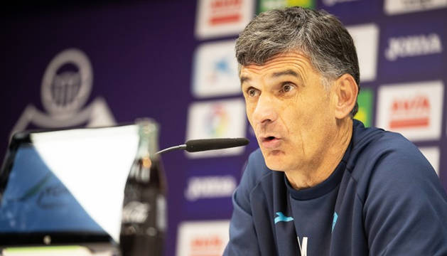 El técnico del Éibar, José Luis Mendilibar.