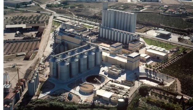 Foto de la planta de Intermalta en San Adrián.