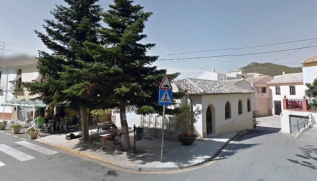 Centro de la localidad de Torremanzanas, en Alicante.