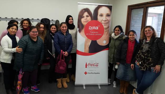 Participantes en 'GIRA Mujeres' en Navarra en 2018.