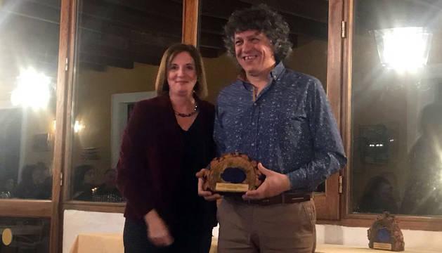 Juan José Salamero recogió el premio.