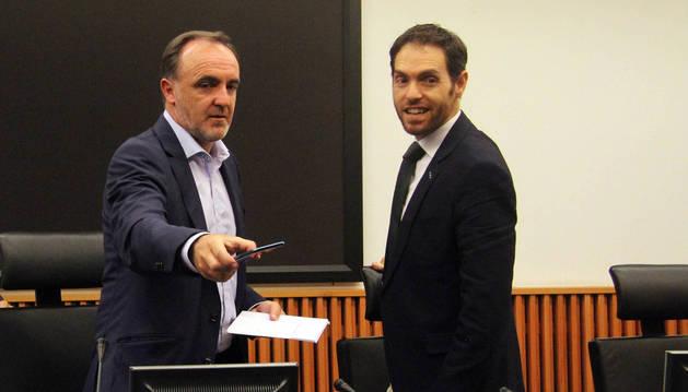 Sayas se perfila como rival de Esparza por la presidencia de UPN