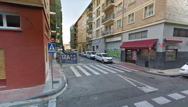 Foto de la calle Doctor Salva con la calle Doctor San Martín.