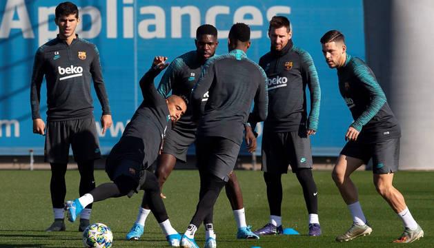 El Barça no se juega nada ante el Inter, que necesita el mismo marcador que el Borussia