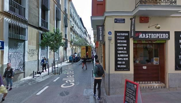 La calle Palma en el barrio madrileño de Malasaña.