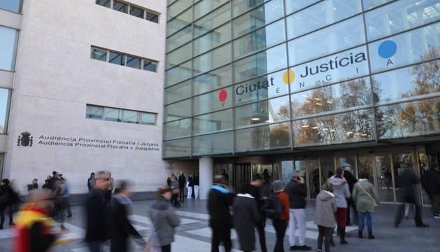 Imagen de la Ciudad de la Justicia de Valencia, donde se ha comunicado la sentencia.
