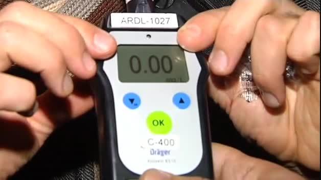 La DGT intensifica los controles de alcohol y drogas de cara a las cenas de empresas
