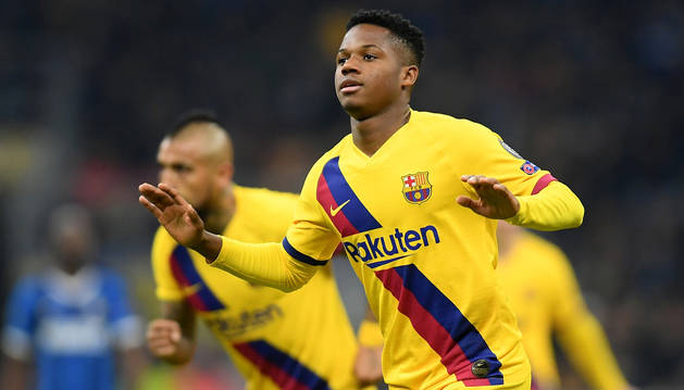 La Masia del Barça aparta al Inter de la Champions