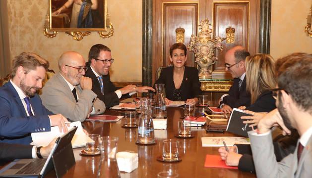 Navarra presenta al Ministerio de Industria el Polo de la Innovación Digital