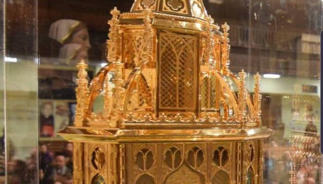 Las reliquias de Santa Bernardette, en Pamplona