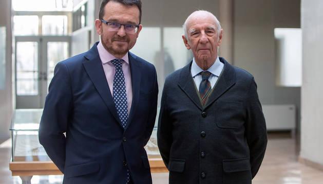 De izda. a dcha.: Alejandro Torres y Joaquín Mencos.