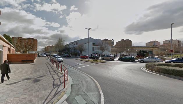 Foto de la calle Camino Caritat de Tudela.