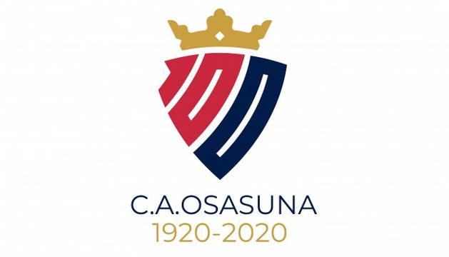 Logo del centenario de Osasuna