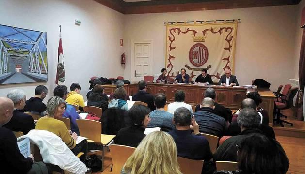 De los 36 asambleístas de la Mancomunidad de Servicios de la Comarca de Sangüesa ayer acudieron 28.