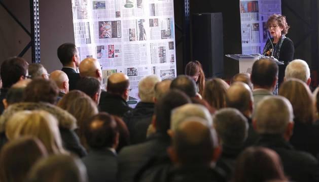 Más de 150 personas han asistido este jueves al evento Marca Navarra organizado por Diario de Navarra en las instalaciones de su rotativa