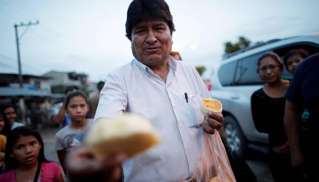 Evo Morales, durante la última campaña en Bolivia.