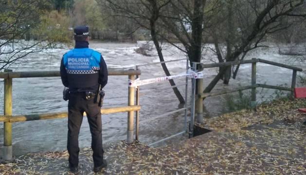 Alerta en los ríos por el temporal de lluvia