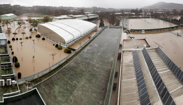 Fotos de las inundaciones en Navarra