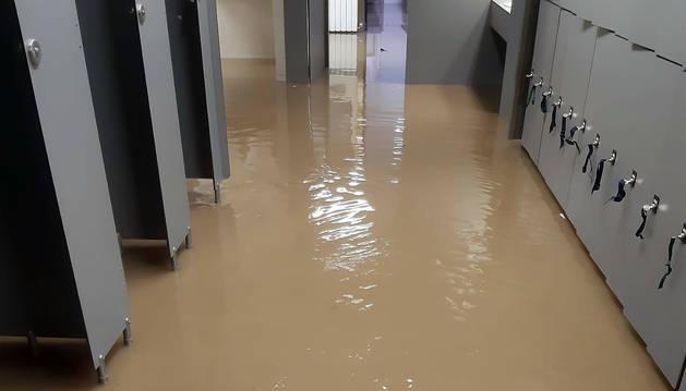 Foto del estado en el que han quedado las instalaciones.