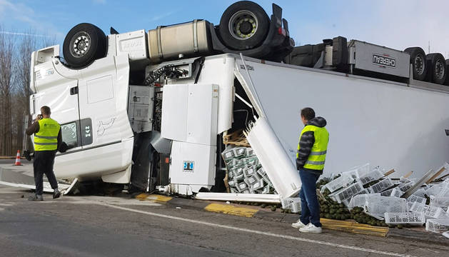 Accidente en Valtierra.
