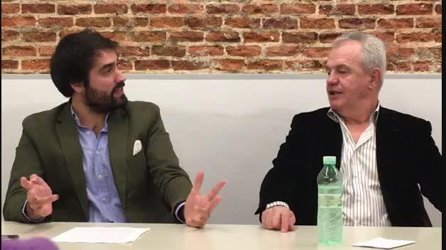 Javier Aguirre en la presentación de un libro sobre Osasuna