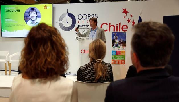 Koldo Monreal, gerente de Onhaus y consultor Passivhaus, ha participado en la 25ª Conferencia de las Partes de la Convención Marco de Naciones Unidas sobre Cambio Climático (COP25).