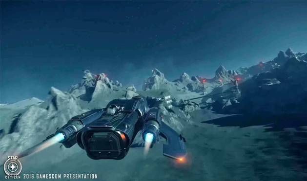 Imagen promocional del juego 'Star Citizen'.
