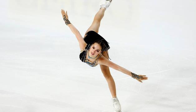 foto de La patinadora artística rusa Alina Zagitova, oro en los Juegos Olímpicos de Invierno de Pyeongchang 2018