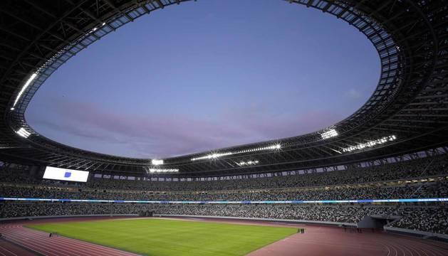 Inauguración del nuevo estadio olímpico de Tokio