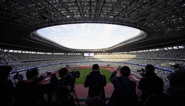 Todas las fotos de la inauguración del nuevo estadio olímpico de Tokio