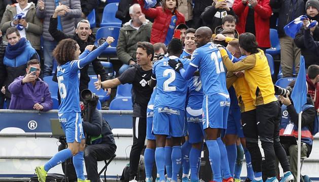El Getafe gana al Valladolid y se coloca en puestos de Liga de Campeones