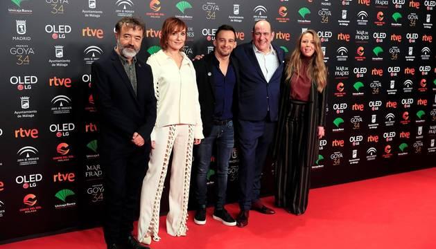 El Florida Retiro de Madrid ha acogido este lunes la celebración de la Fiesta de los Nominados de los Premios Goya 2020.
